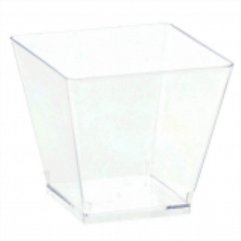Picture of CLEAR MINI PLASTIC CUBE GLASS