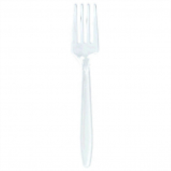 Picture of CLEAR PLASTIC FORKS - VALUE