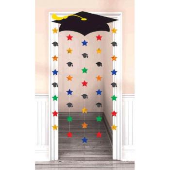 Picture of DECOR - MULTI COLOR GRAD CAP DOOR DECORATION