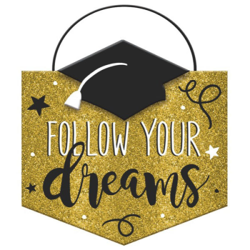 Picture of DECOR - FOLLOW YOUR DREAM SIGN