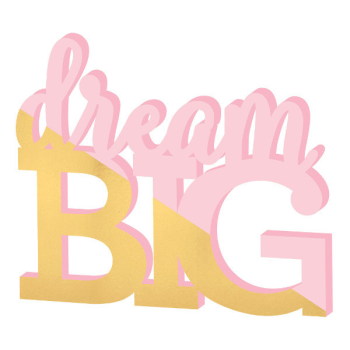 Picture of DECOR - DREAM BIG STANDING SIGN
