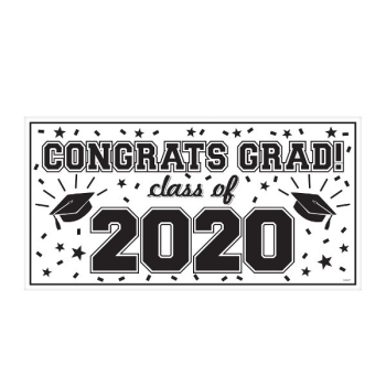 Picture of CONGRATS GRAD LARGE BANNER
