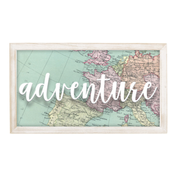 Picture of DECOR - ADVENTURE HANGING SIGN