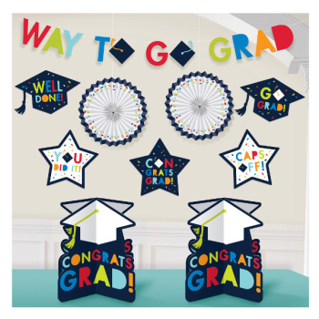 Image de DECOR - AWESOME GRAD ROOM DECORATING KIT