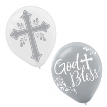 "Picture of 12""  LATEX BALLOONS - Holy Day"