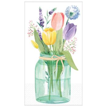 Image de Tulip Garden Guest Towels