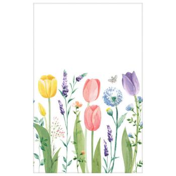 Image de Tulip Garden Tablecover Plastic