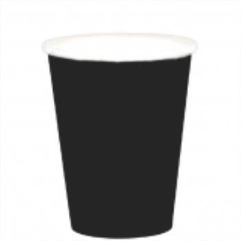 Picture of BLACK 9oz PAPER CUPS