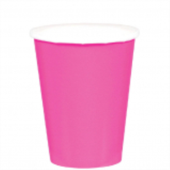 Picture of BRIGHT PINK 9oz PAPER CUPS