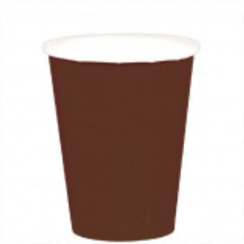 Picture of CHOCOLATE BROWN 9oz PAPER CUPS