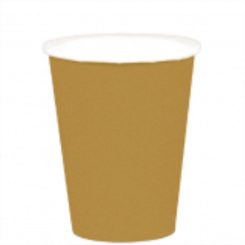 Picture of GOLD 9oz PAPER CUPS
