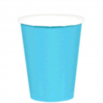 Picture of CARIBBEAN BLUE 9oz PAPER CUPS