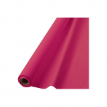 "Picture of BRIGHT PINK PLASTIC TABLEROLL 40""X100'"