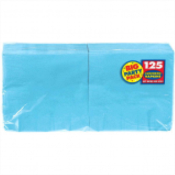 Picture of CARIBBEAN BLUE LUNCHEON NAPKINS - BIG PARTY PACK