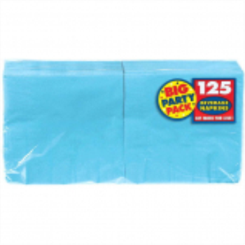 Picture of CARIBBEAN BLUE BEVERAGE NAPKINS - BIG PARTY PACK