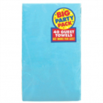 Picture of CARIBBEAN BLUE GUEST TOWELS