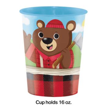 Image de LITTLE LUMBERJACK BIRTHDAY - 16oz PLASTIC CUP