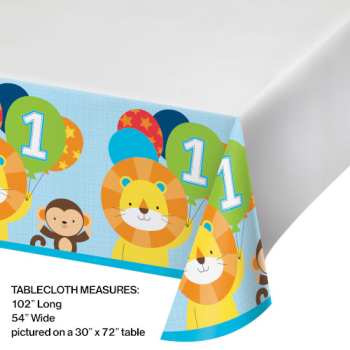 Image de ONE IS FUN - PLASTIC TABLE COVER