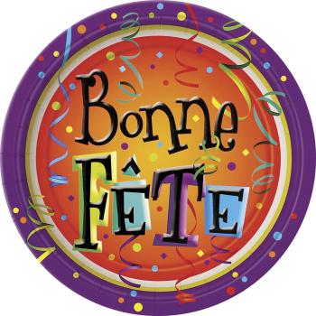 Picture of BONNE FÊTE LIVELY - 9 PLATES
