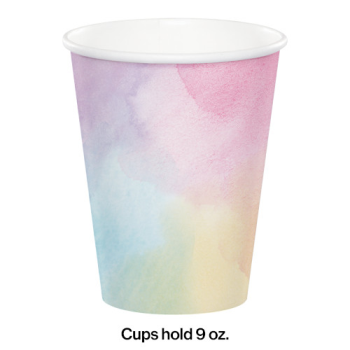 Picture of TABLEWARE - IRIDESCENT 9oz CUPS