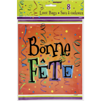 Picture of BONNE FÊTE LIVELY LOOT BAGS