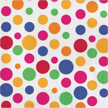 Picture of TABLEWARE - PARTY DOTS LUNCHEON NAPKINS