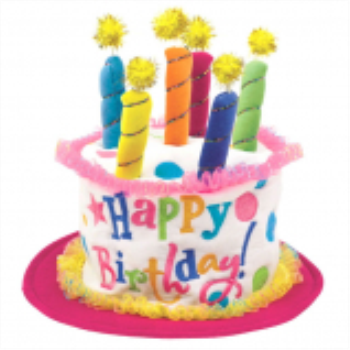 Image de Birthday Cake Party Hat