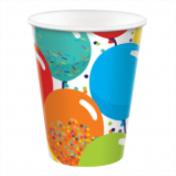 Picture of TABLEWARE - Birthday Celebration - 9oz cups