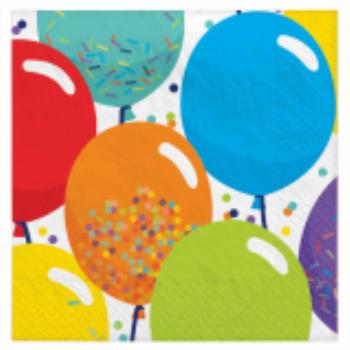 Picture of TABLEWARE - Birthday Celebration - Beverage Napkins