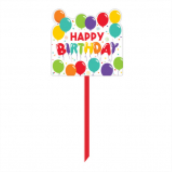 Picture of DECOR - BIRTHDAY CELEBRATION LAWN YARD SIGN
