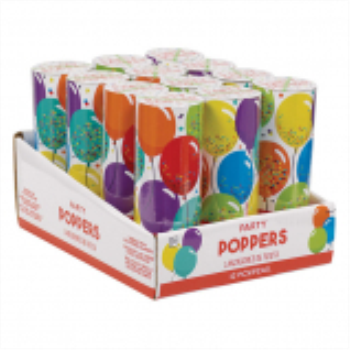 Picture of DECOR - POPPERS - Birthday Celebration Confetti Poppers