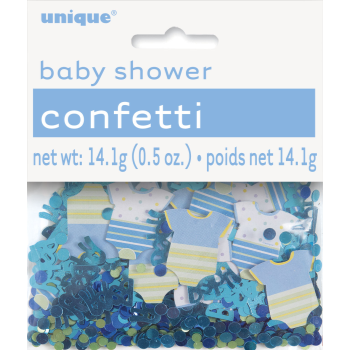 Image de BLUE DOTS BABY SHOWER CONFETTI