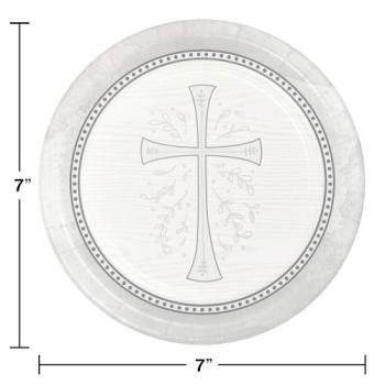 """Image de TABLEWARE - DIVINITY SILVER 7"""" PLATES"""
