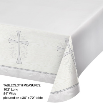 Picture of TABLEWARE - DIVINITY SILVER TABLE COVER