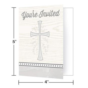 Image de TABLEWARE - DIVINITY SILVER INVITATIONS