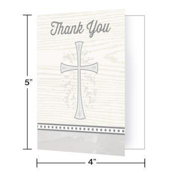 Image de DECOR - DIVINITY SILVER THANK YOU CARDS