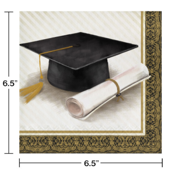 Picture of CLASSIC GRADUATION LUNCHEON NAPKINS