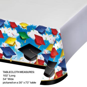 Picture of GRAD CELEBRATION PLASTIC TABLE COVER