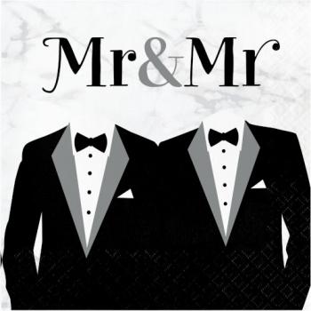 Image de MR & MR WEDDING LUNCHEON NAPKINS