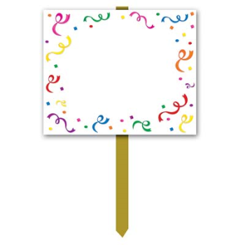 Picture of LAWN YARD SIGN - BLANK
