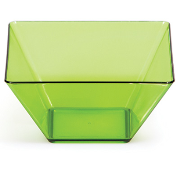 "Picture of TABLEWARE - 3.5"" CLEAR GREEN BOWLS"
