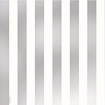 Picture of JUMBO GIFT WRAP - FOIL SILVER STRIPE