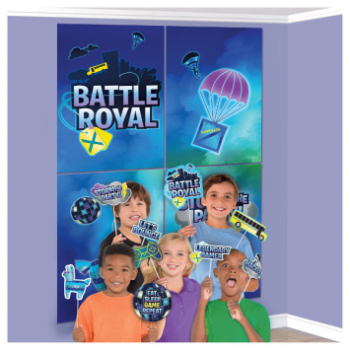 Picture of BATTLE ROYAL ''INSPIRED BY FORTNITE'' - SCENE SETTER WITH PROPS