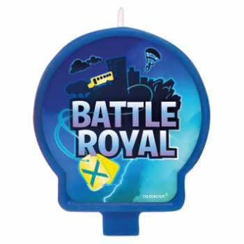 Picture of BATTLE ROYAL ''INSPIRED BY FORTNITE'' - BIRTHDAY CANDLE