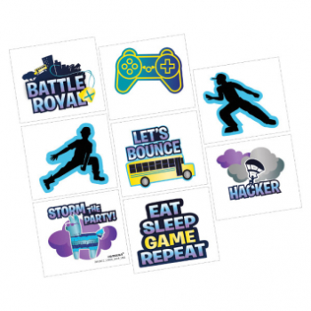 Picture of BATTLE ROYAL  ''INSPIRED BY FORTNITE'' - TATTOOS