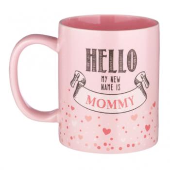 Image de HELLO MY NEW NAME IS MOMMY MUG