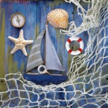 Picture of SAILBOAT - LUNCHEON NAPKINS