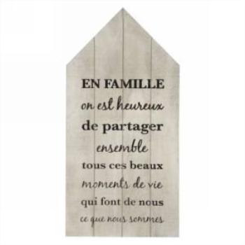 Picture of EN FAMILLE....PLAQUE POUR LE MUR