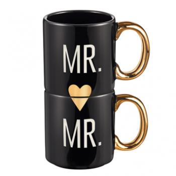 Picture of MR & MR COUPLE MUG SET OF 2