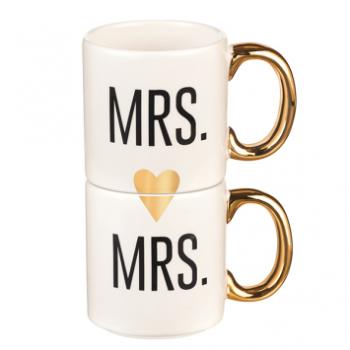 Image de MRS & MRS COUPLE MUG SET OF 2